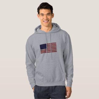 La sudadera con capucha de los hombres patrióticos