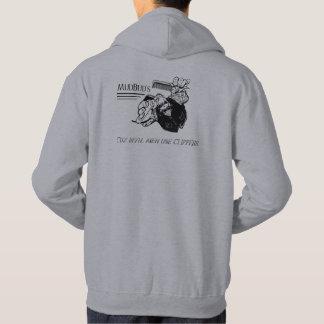La sudadera con capucha de MudBud