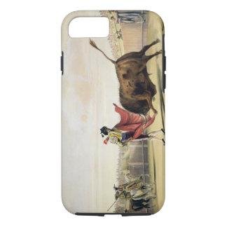 La Suerte de la Capa, 1865 (litho del color) Funda iPhone 7