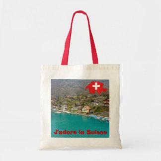 La Suisse de J'adore Bolsa Tela Barata