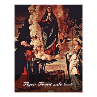 La suposición con St Anthony reduce y St. Louis de Flyer Personalizado