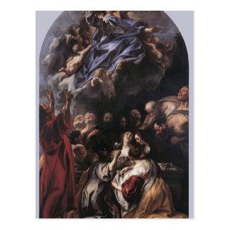 La suposición de la Virgen de Jacob Jordaens Postal
