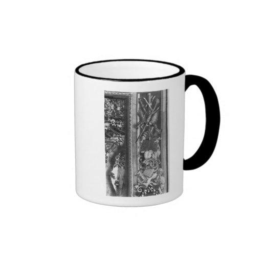 La tapicería de las estaciones, frontera, fábrica  taza de café