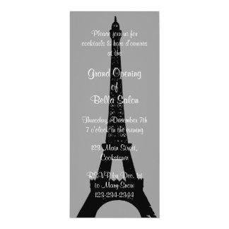 La tarde gris de la gran inauguración en París Invitación 10,1 X 23,5 Cm