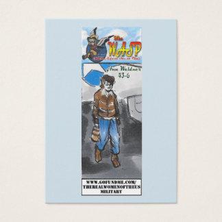 La tarjeta de comercio de Ana Waldner de la AVISPA
