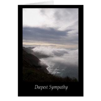 La tarjeta de condolencia más profunda de la costa