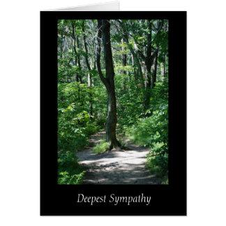 La tarjeta de condolencia más profunda del árbol