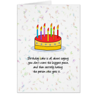 La tarjeta de cumpleaños más grande del pedazo
