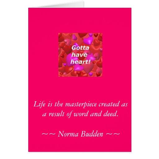 La tarjeta de felicitación de la obra maestra