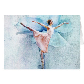 La tarjeta de la bailarina