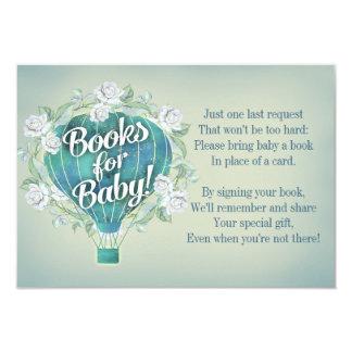 La tarjeta de libro azul de la fiesta de
