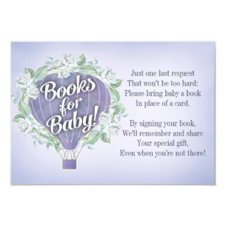La tarjeta de libro púrpura de la fiesta de