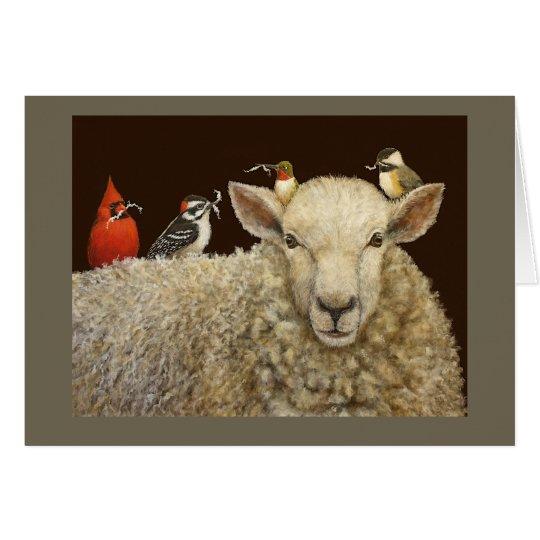 La tarjeta de los recolectores de las lanas
