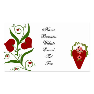 La tarjeta de visita del amor
