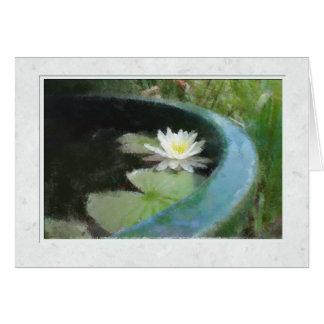 La tarjeta de Waterlily