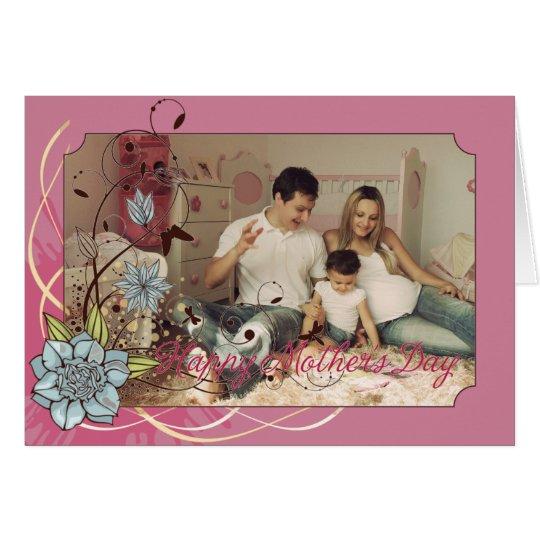 La tarjeta del día de madre - utilice su propia