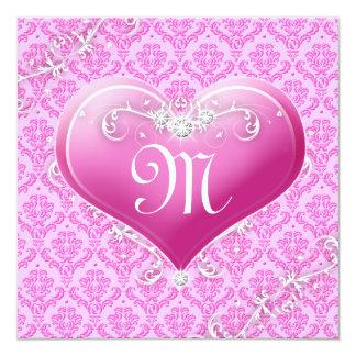 La tarjeta del día de San Valentín adaptable del Invitación 13,3 Cm X 13,3cm