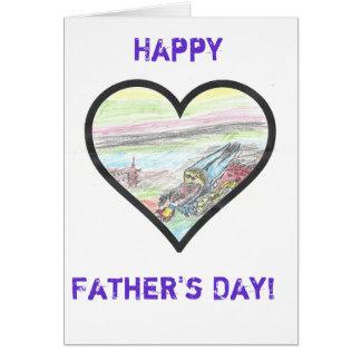 La tarjeta del día del padre de la fundación del