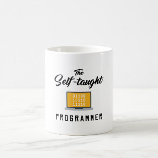 La taza autodidacta del programador