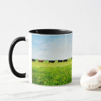 """La taza de café """"hasta las vacas vuelve a casa """""""