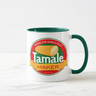 La taza de café más grande del fabricante del