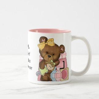 La taza de café más grande del vendedor de los