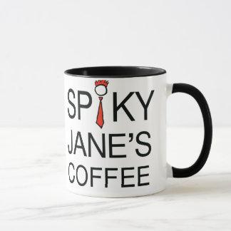 La taza de Jane de punta