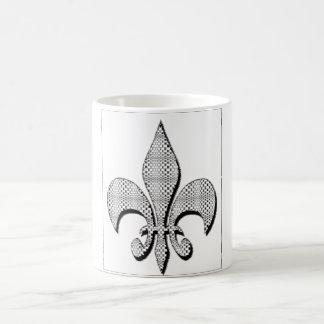 La taza de la flor de lis