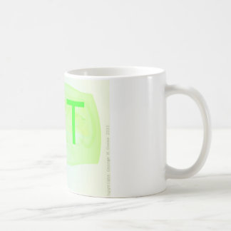 Taza De Café La taza de la letra T