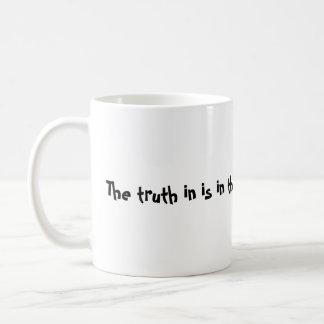 La taza de la obra clásica de la verdad