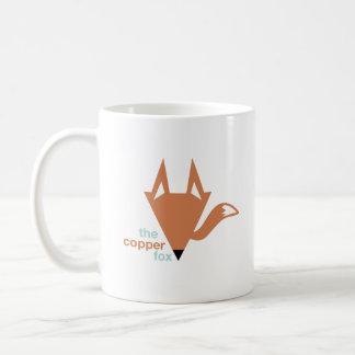La taza de la obra clásica del logotipo del Fox