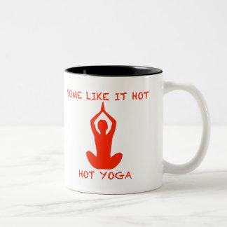 La taza de la yoga algunos tiene gusto de él