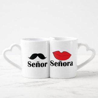 La taza del amante de Señor y de Señora