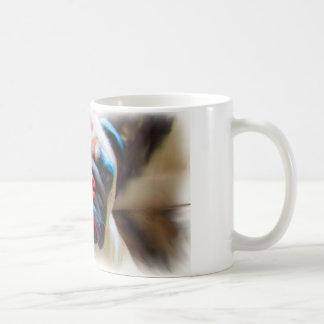 La taza del barro amasado de Marvin
