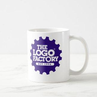 La taza del diente de la fábrica del logotipo