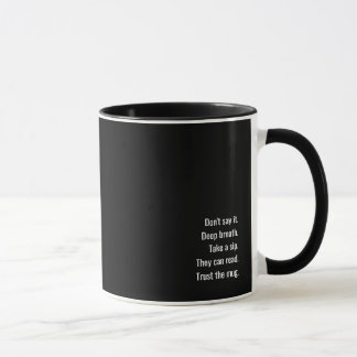 La taza del discusión-tapón de la oficina, edición