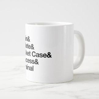 La taza del jumbo del equipo del club del desayuno