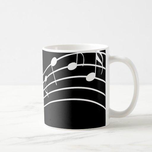 La taza del músico ondulado de los personales de l