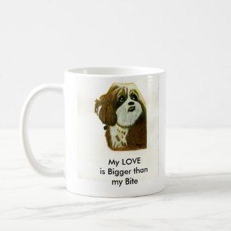 La taza del perro de Murphy del jGibney de la seri