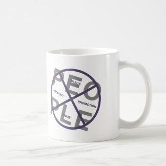 La taza del vendedor - 4 p del márketing + ¡Gente!