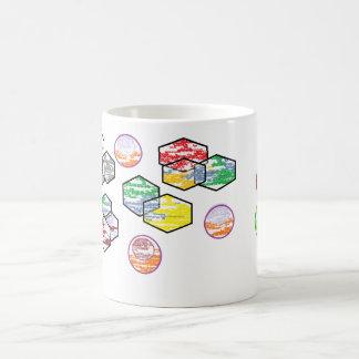 ¡La taza enrrollada de las formas es diversión