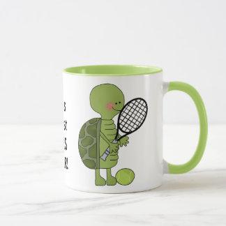 La taza más grande de la taza de café del jugador