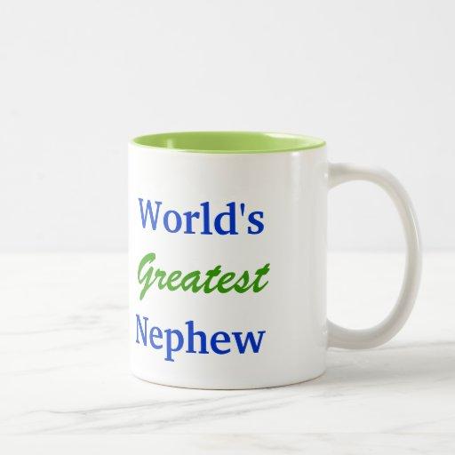 La taza más grande del sobrino del mundo