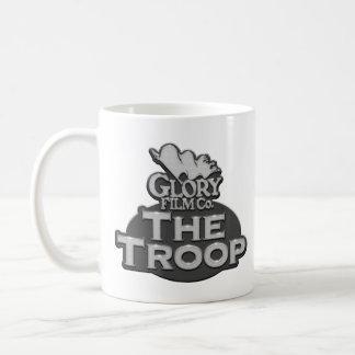 La taza personalizada Redux de la tropa