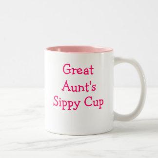 La taza sippy de la gran tía