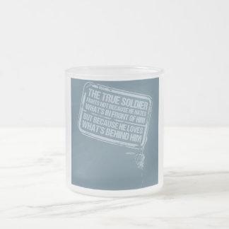 La taza verdadera del soldado