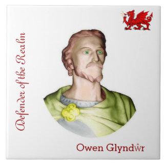 La teja del colector de Owen Glyndŵr
