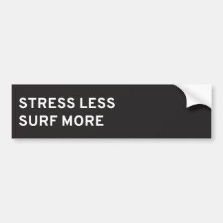 La tensión menos, practica surf a más pegatina