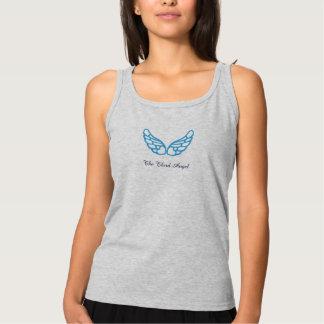 La tercera camiseta del tanque del ángel (las alas