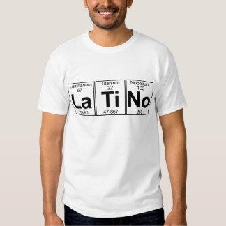 La-Ti-Ningún (latino) - por completo Camisetas